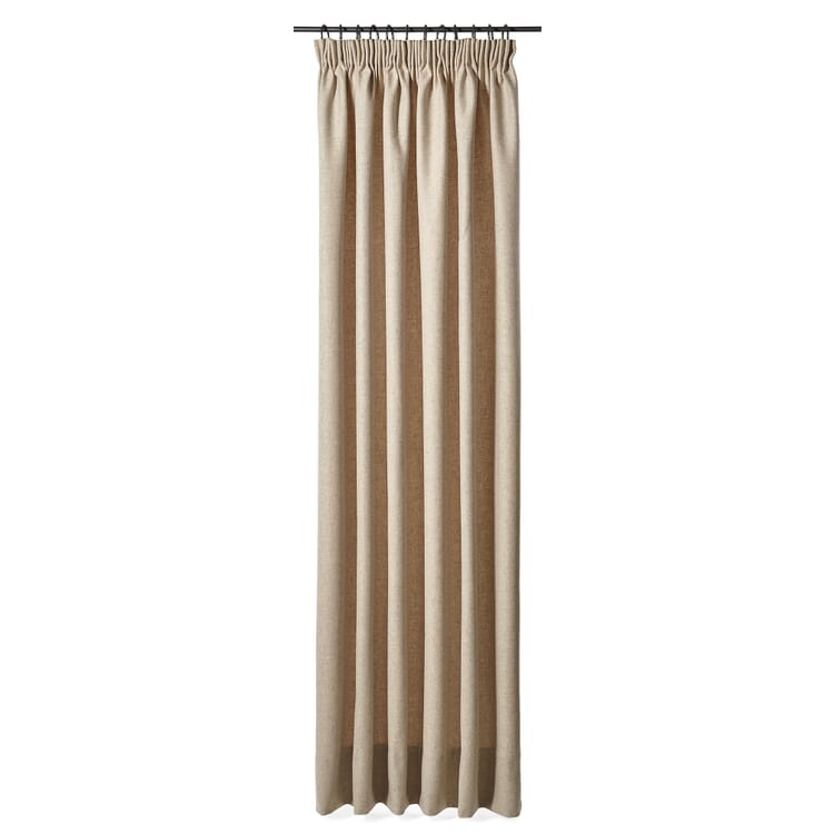Curtain Made of Loden Cloth, 225 cm