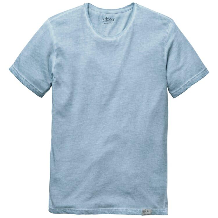 Herren-T-Shirt Crew Neck, Hellblau