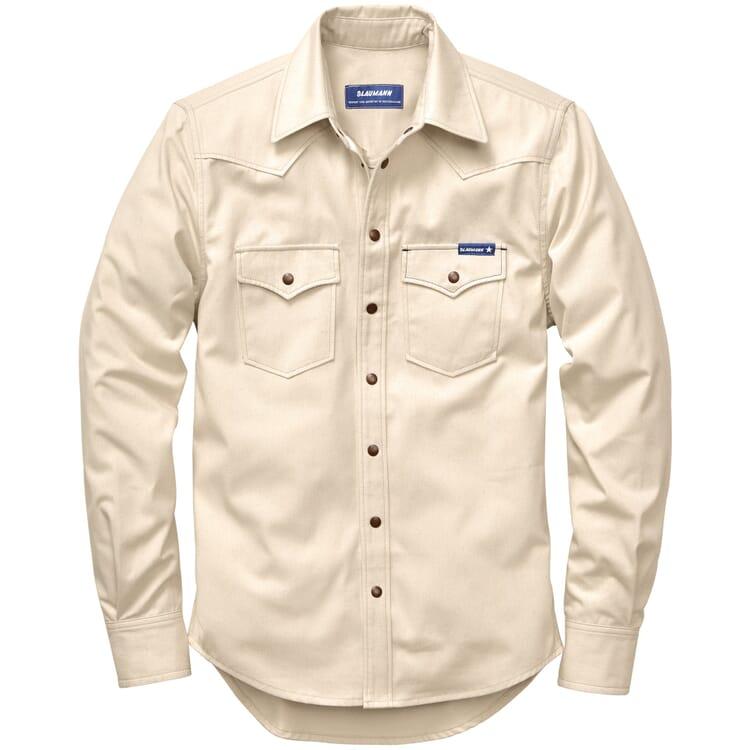 Men's Shirt Jacket Made of Cotton