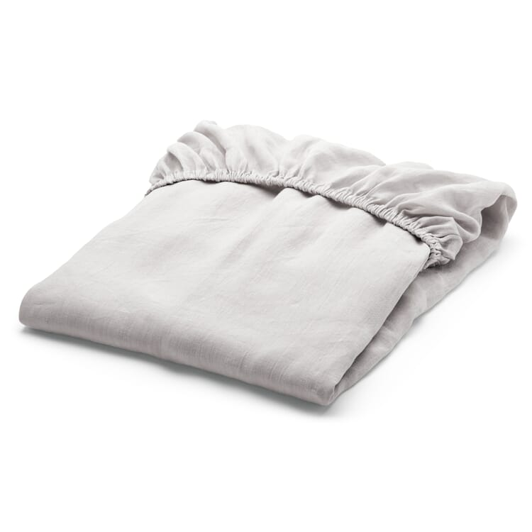 Cambric Made of Linen Fitted Sheet