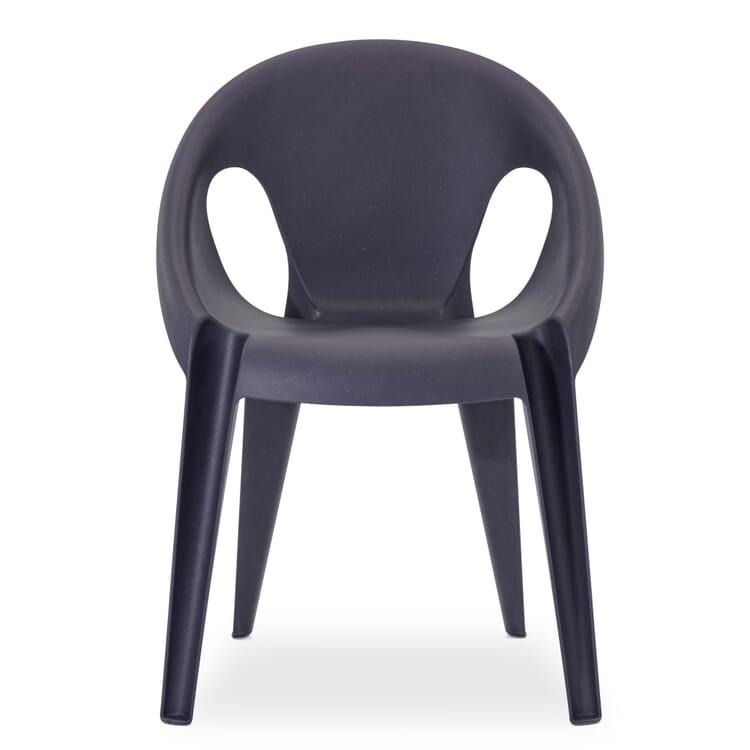 Armlehnstuhl Bell Chair, Schwarz
