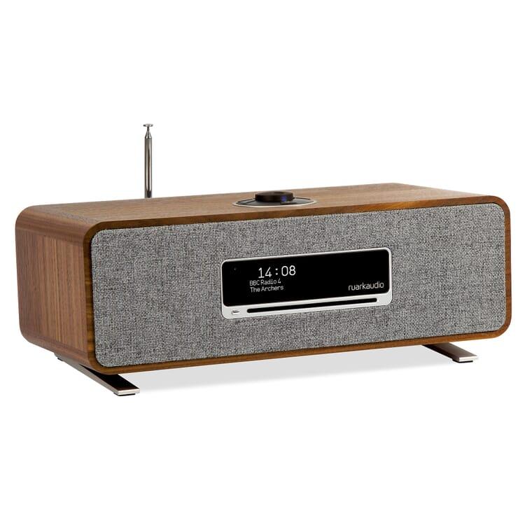 Ruark Audio Tisch-Stereoanlage R3 Nussbaum