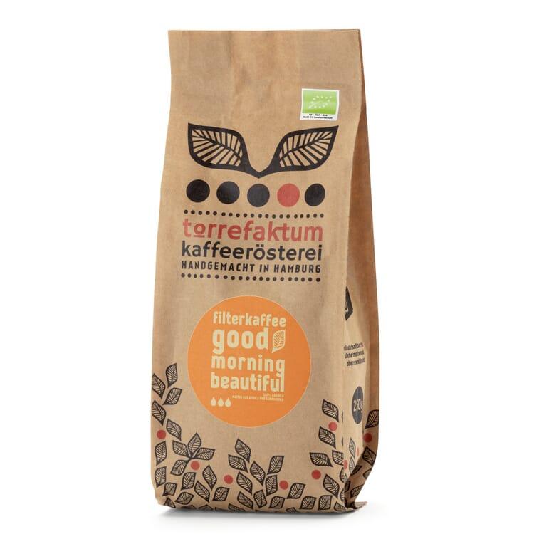Organic Filter Coffee Good Morning Beautiful