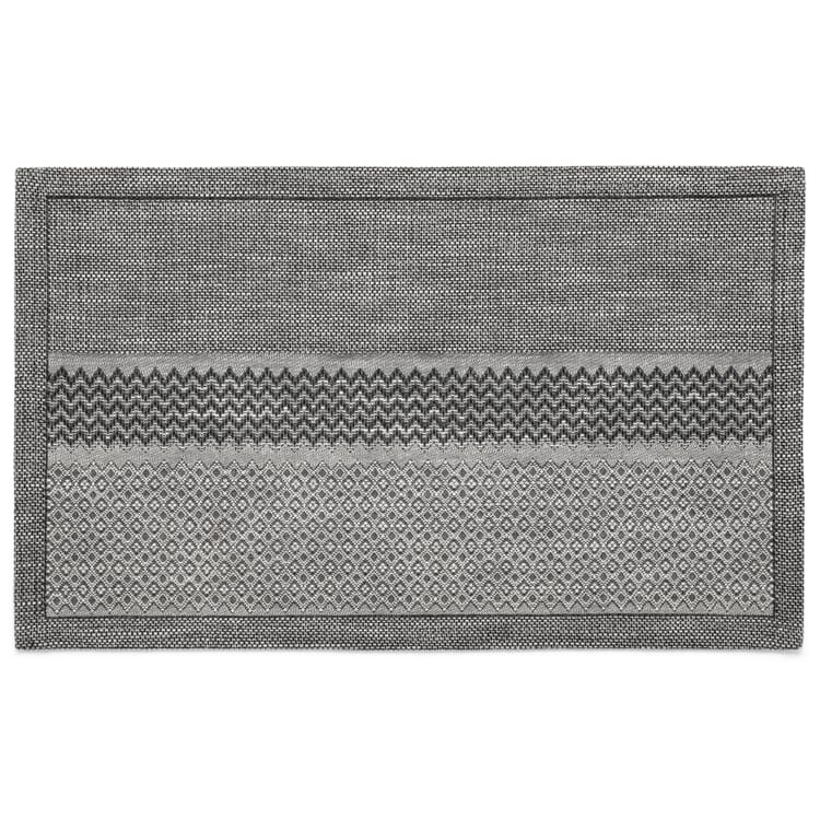 Placemat Mottled Grey