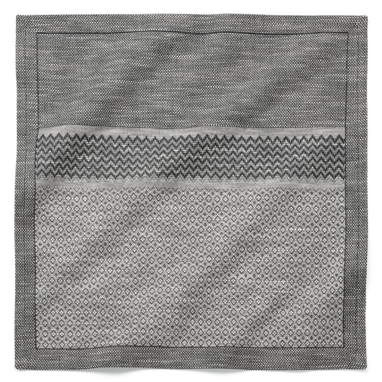 Napkin Mottled Grey
