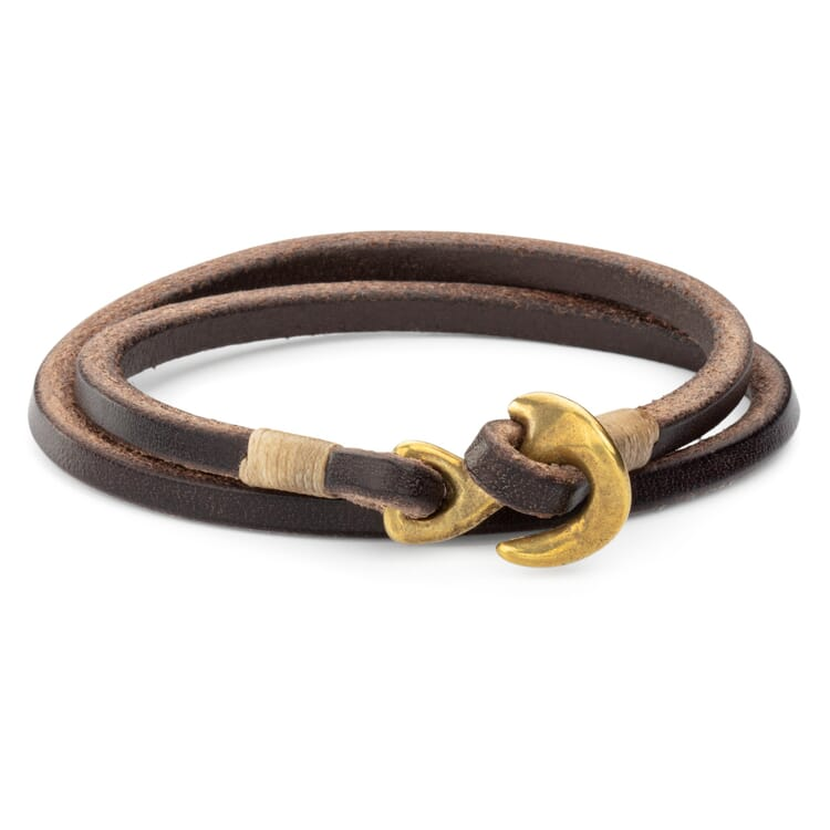 Armband Rindleder, Braun