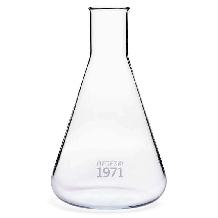 Glasflasche Konus