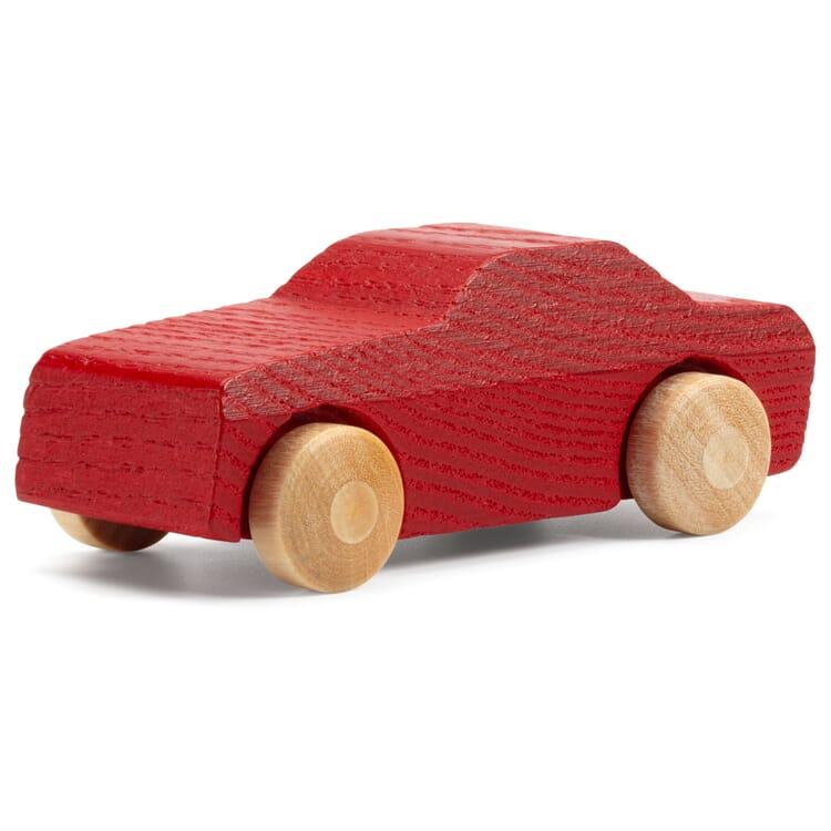 Holzauto Pkw, Rot