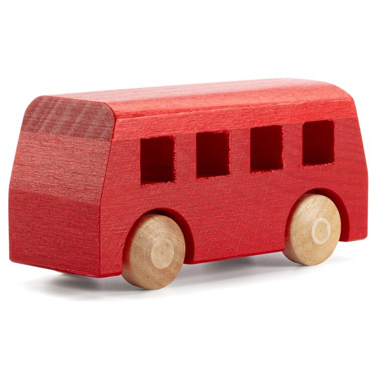 Holzauto Bus