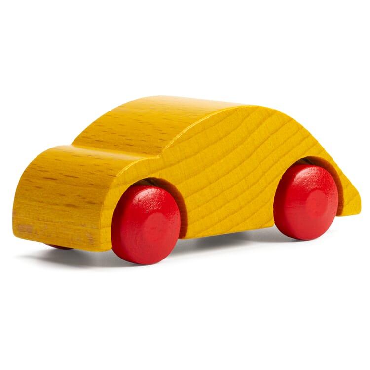 Holzauto Kugelflitzer, Gelb