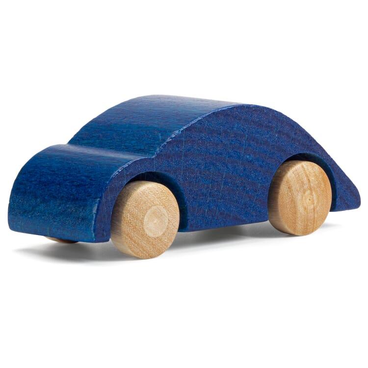 Holzauto Kugelflitzer, Blau