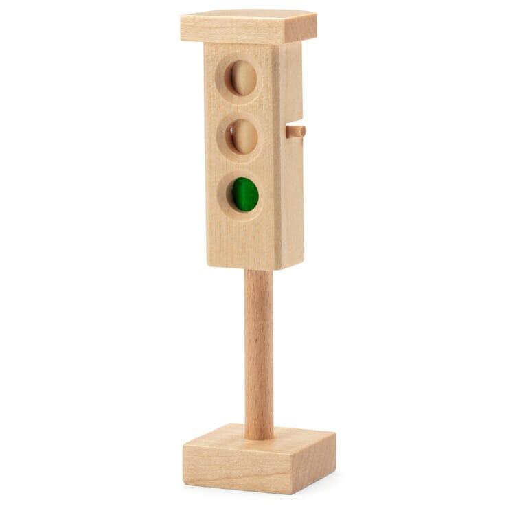 Verkehrsampel Holz