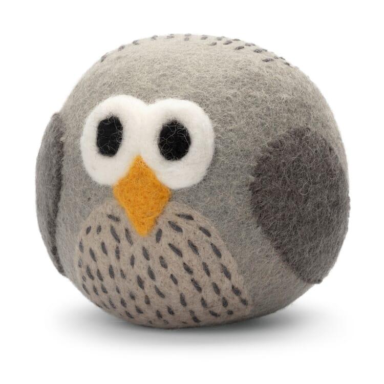 Soft Toy Felt Ball, Owl