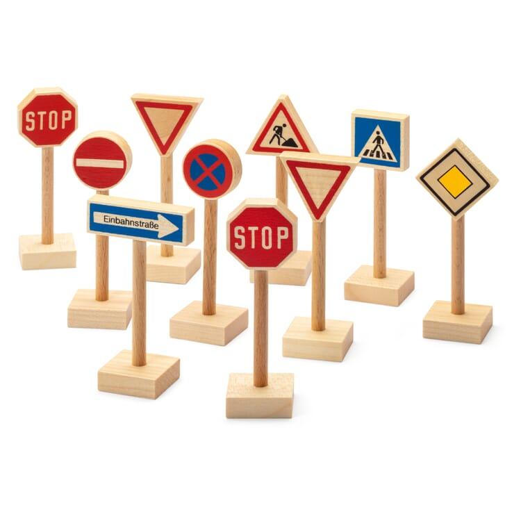 Set Verkehrsschilder