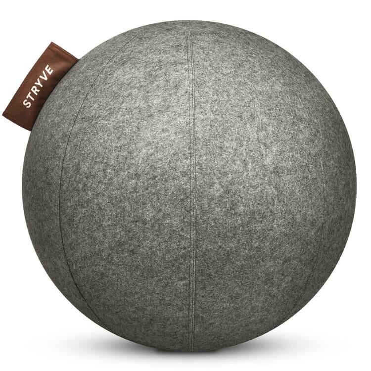 Sitzball Wollfilz