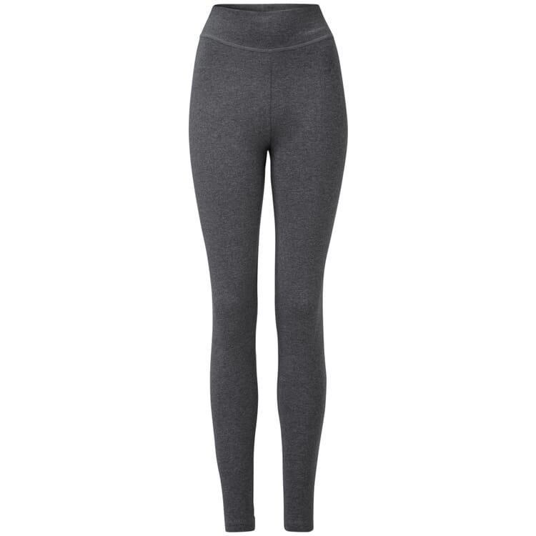 Damen-Jersey Leggings, Graumelange