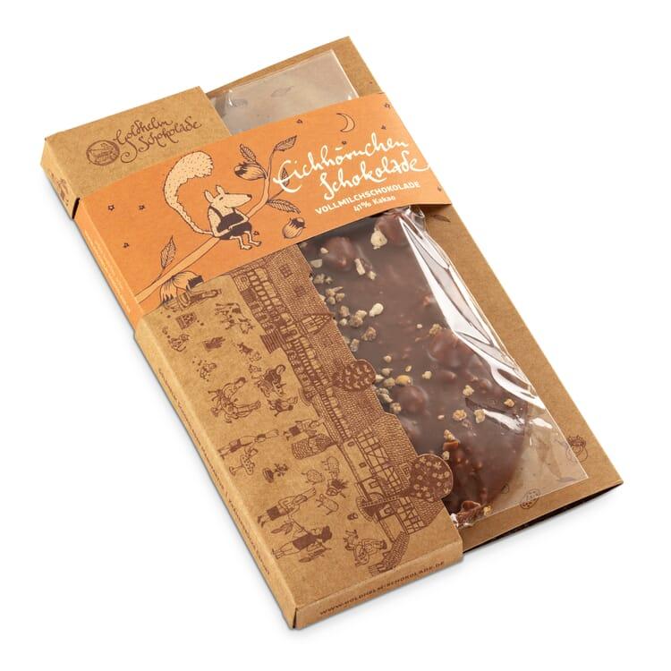 "Goldhelm Tafelschokolade ""Eichhörnchen"""