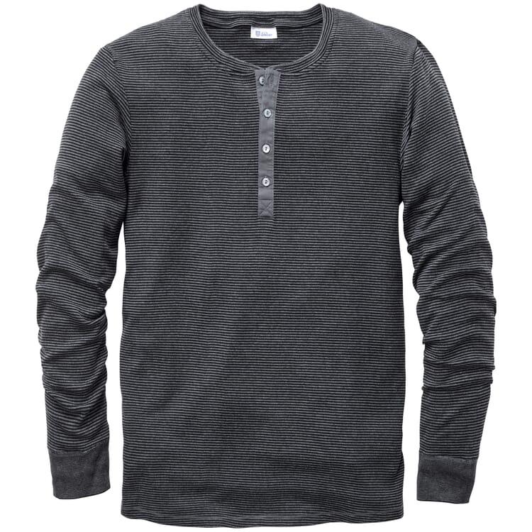Herren-Henley-Shirt Feinripp