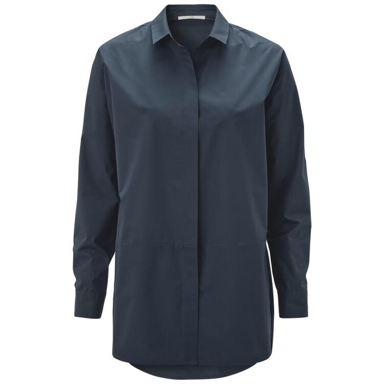 Women's Long Blouse, Blue