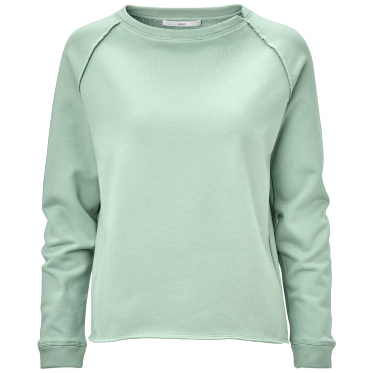 Damen-Raglansweater, Mint