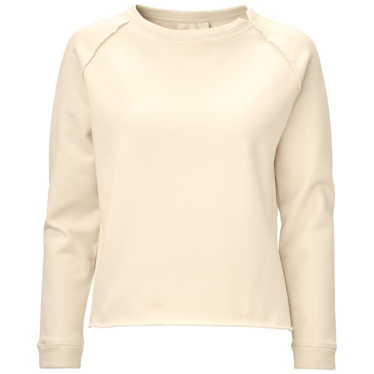 Damen-Raglansweater, Creme