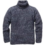 Men's Knit Pullover with Turtleneck