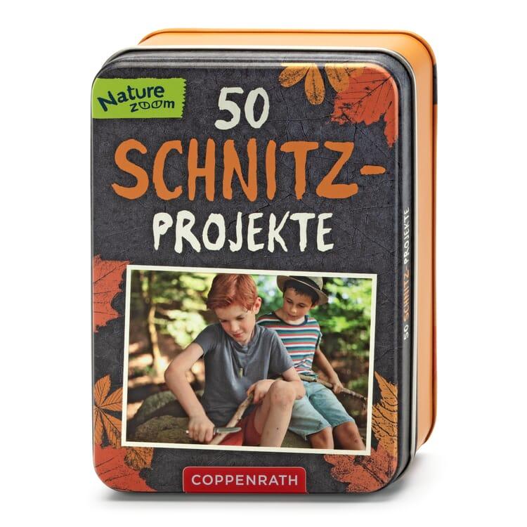 Kartenbox, 50 Schnitzprojekte