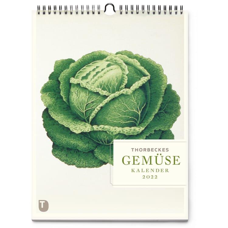 Thorbeckes Gemüse-Kalender 2022