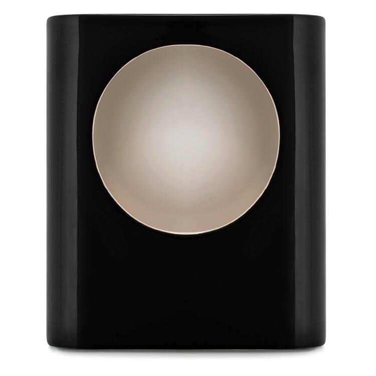 Tischleuchte Signal, Klein, Schwarz, glänzend