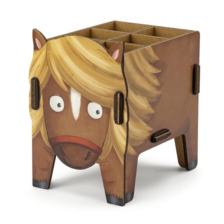 "Pencil Box ""Animal"" by Werkhaus, Pony"