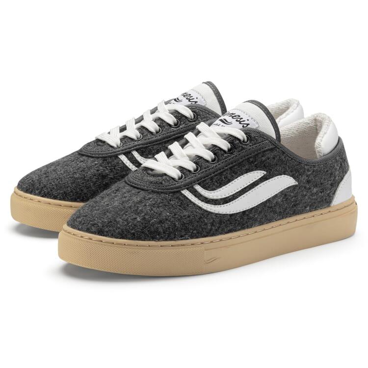 Unisex-Sneaker, Grau-Weiß