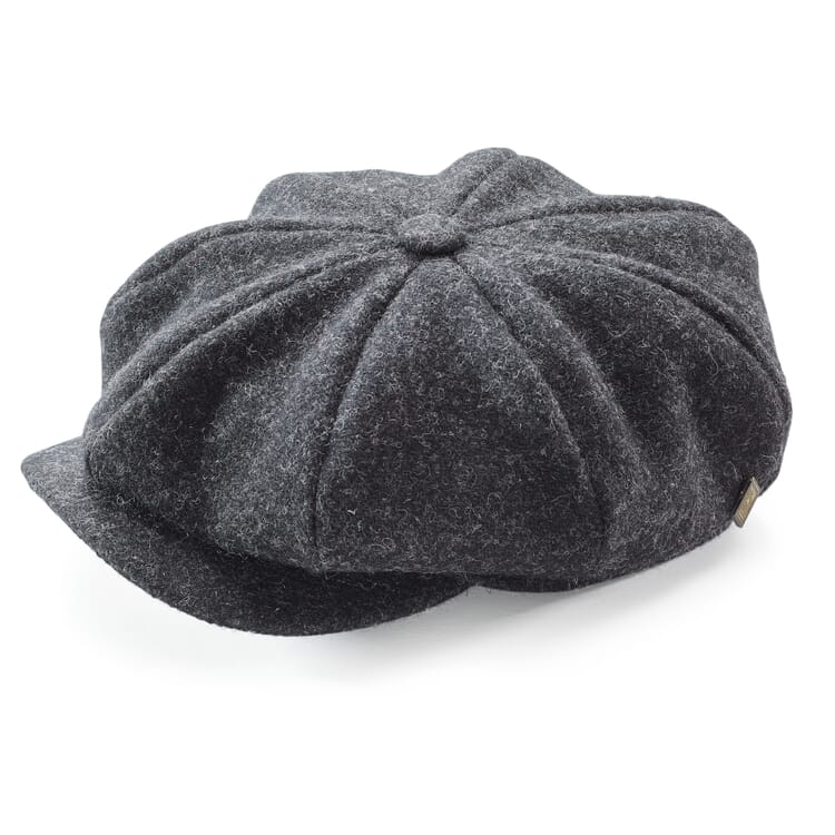 Herrenkappe Harris-Tweed, Anthrazit