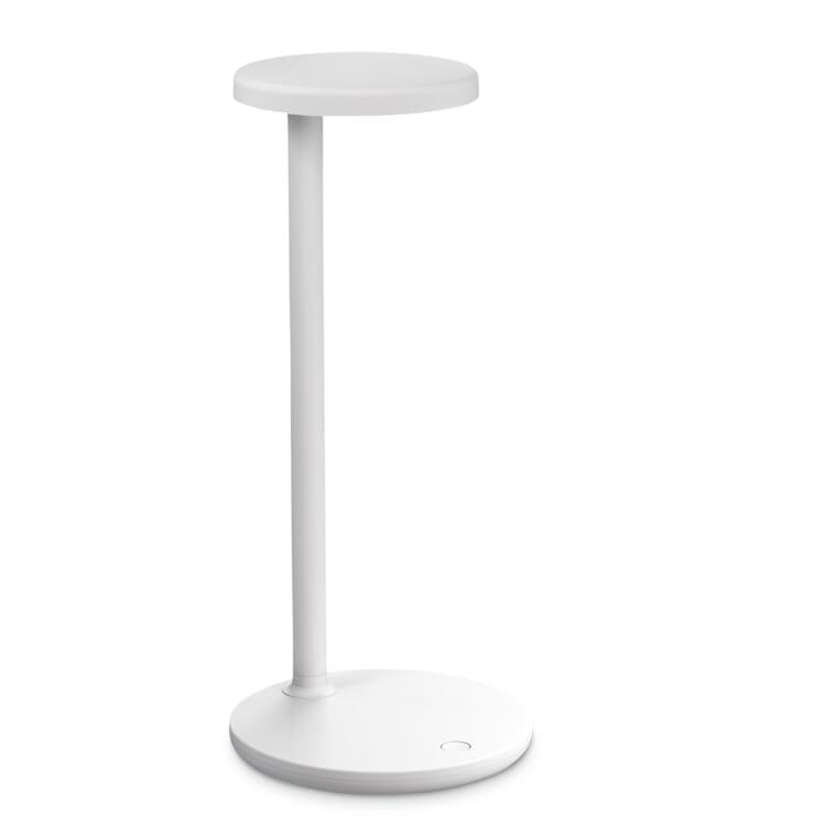 Tischleuchte Oblique, Weiß, matt