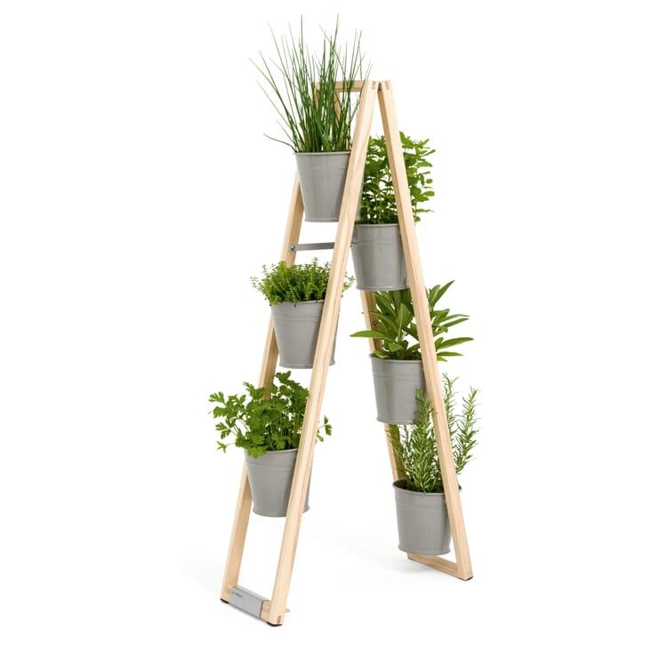 Pflanzenleiter für drinnen und draußen