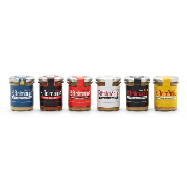 Riffelmanns Senf 6er-Pack