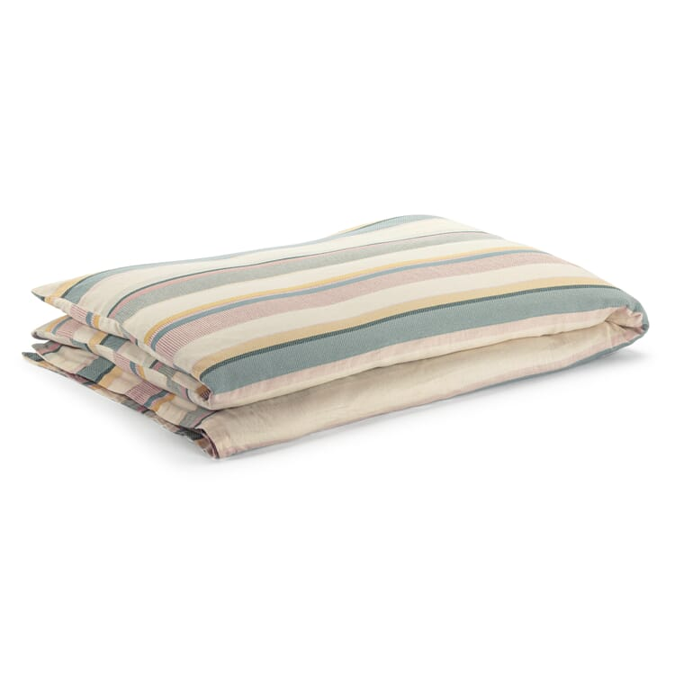 Bettbezug Strukturstreifen