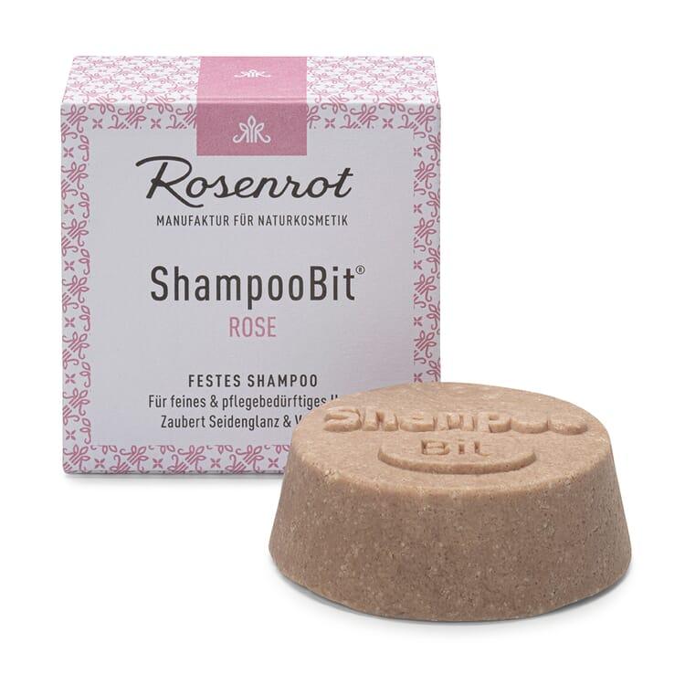 Festes Shampoo Damen, Rose