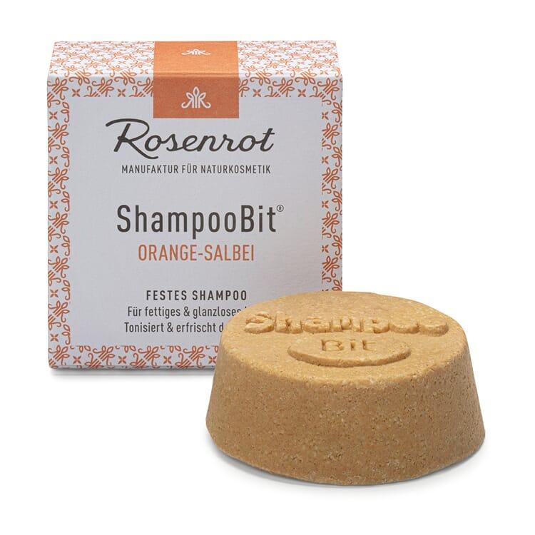 Festes Shampoo Damen, Orange-Salbei