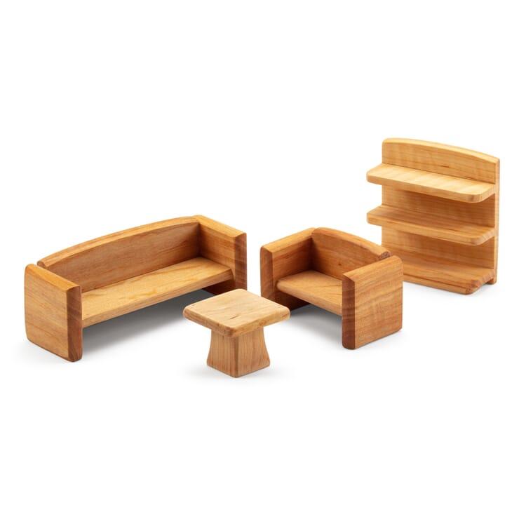 Puppenhaus-Möbelset Wohnzimmer