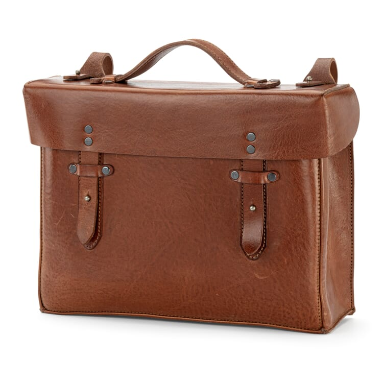 Gepäckträgertasche Rindleder