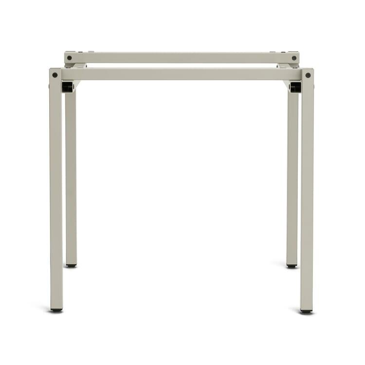 Table Frame Erik, Pebble Grey RAL 7032