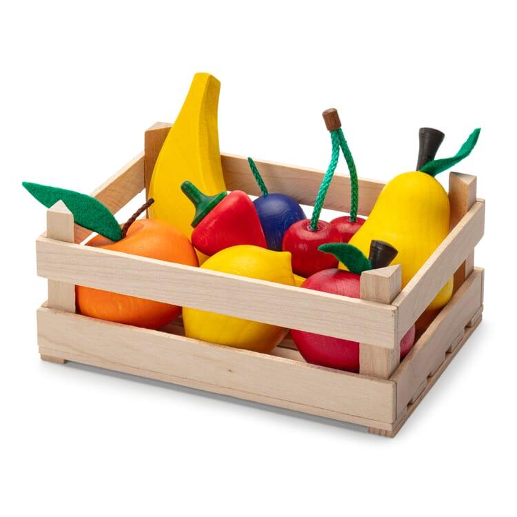 Set Holzstiege, Obst