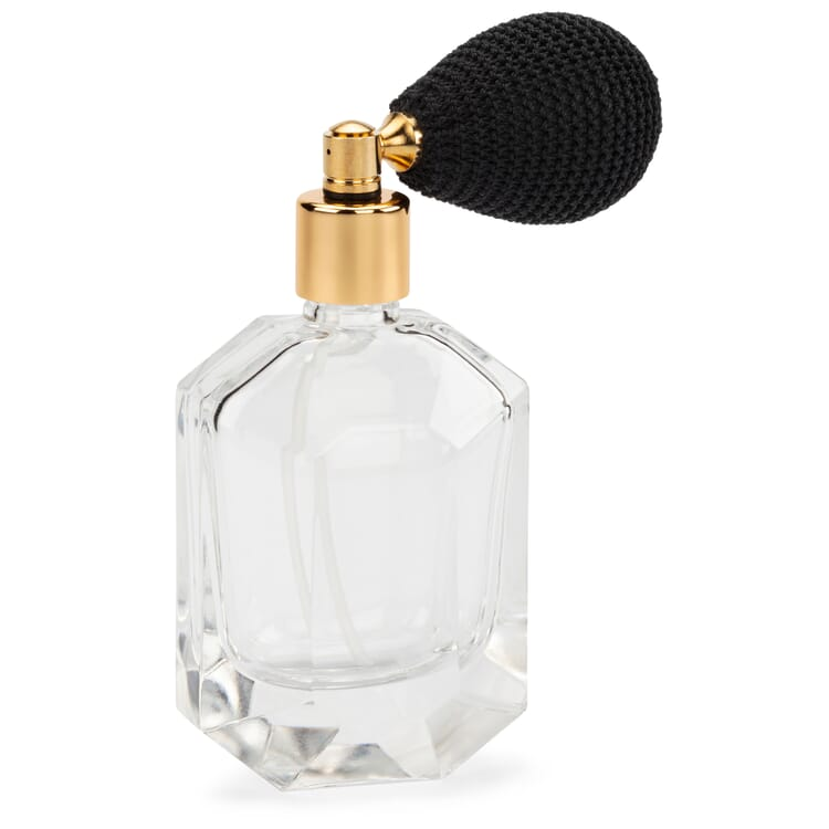 Parfümflakon mit Ballpumpe