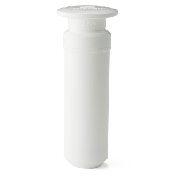 Vakuumpumpe zu Vorratsbehälter Emaille Aromat