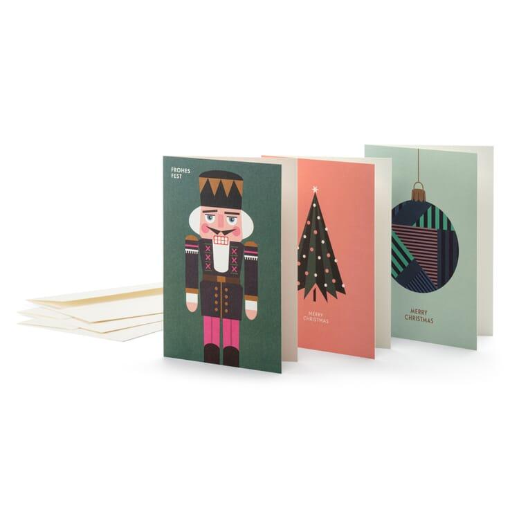 Weihnachtskarten H & S, Nr. 1