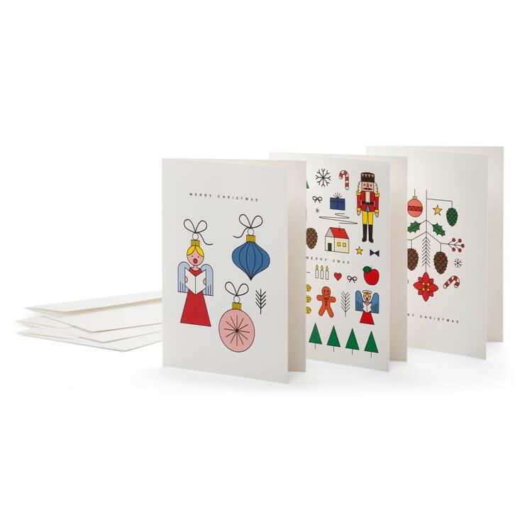 Weihnachtskarten, Wimmel