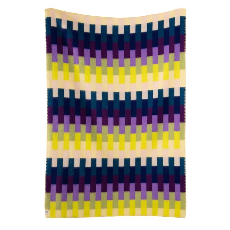 Decke Åsmund Bold, Violett-Gelb