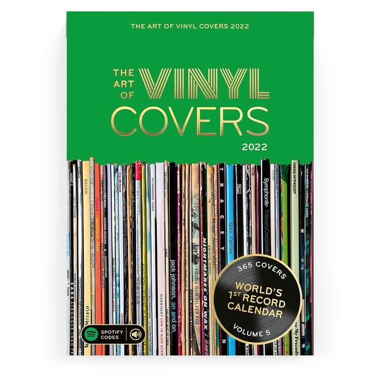 Jahreskalender Vinyl Covers 2022