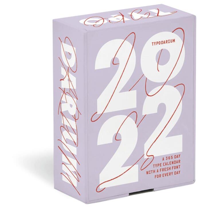 Tageskalender Typodarium 2022